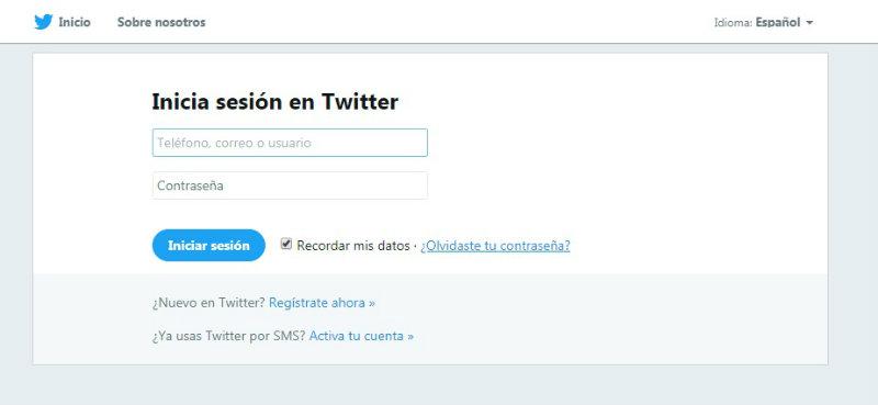 entrar a portal twitter