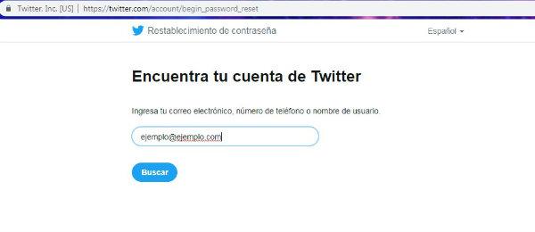 identificar usuario twitter