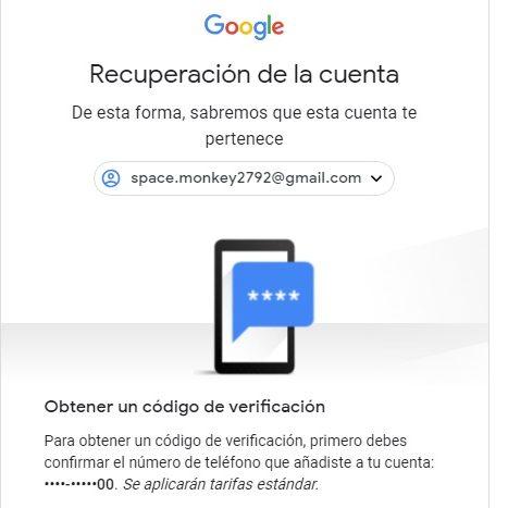 código de verificación telefónica