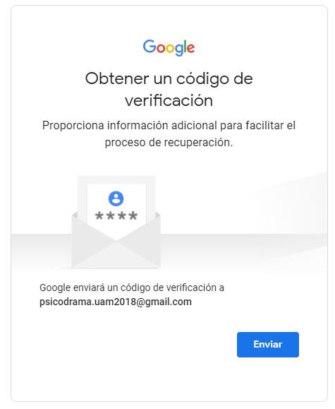 obtener código de verificación de google play