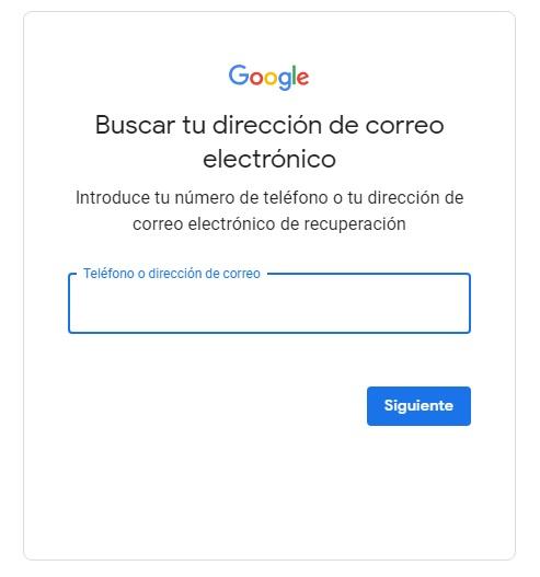 vías de contacto google play