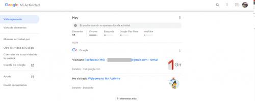 como recuperar el historial borrado de google chrome en android