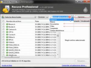 como recuperar los archivos borrados