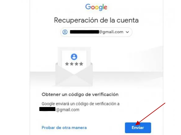 recuperar clave en gmail